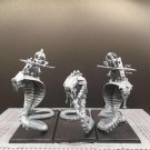 3pcs Necropolis Knights Tomb King Elite Warriors Fantasy Total War Warhammer Resin Models 1/32