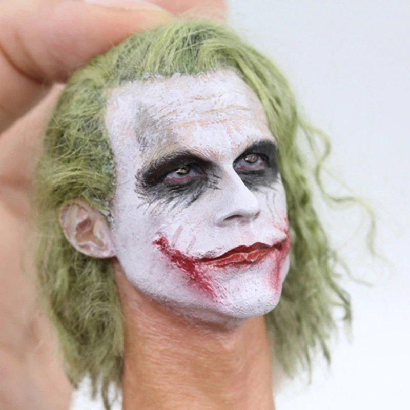 1/6 Joker Head DC Comics Super Heroes for 1/12 Action Figures Toys Hobby Games