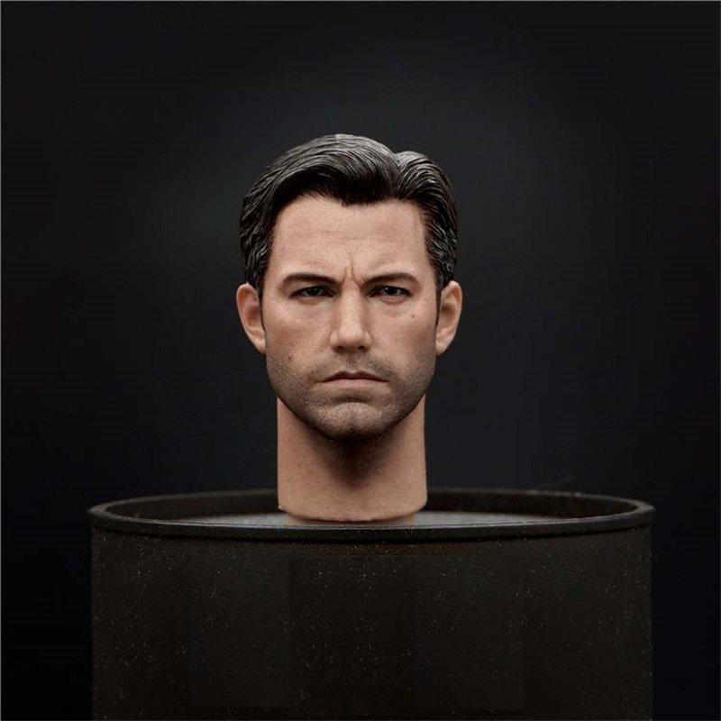 1/6 Batman Head Ben Affleck DC Comics Super Heroes for 1/12 Action Figures Toys Hobby