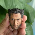 1/6 Wolverine Head Logan X-Men Hugh Jackman Marvel Super Heroes 1/12 Action Figures Toys Hobby Games