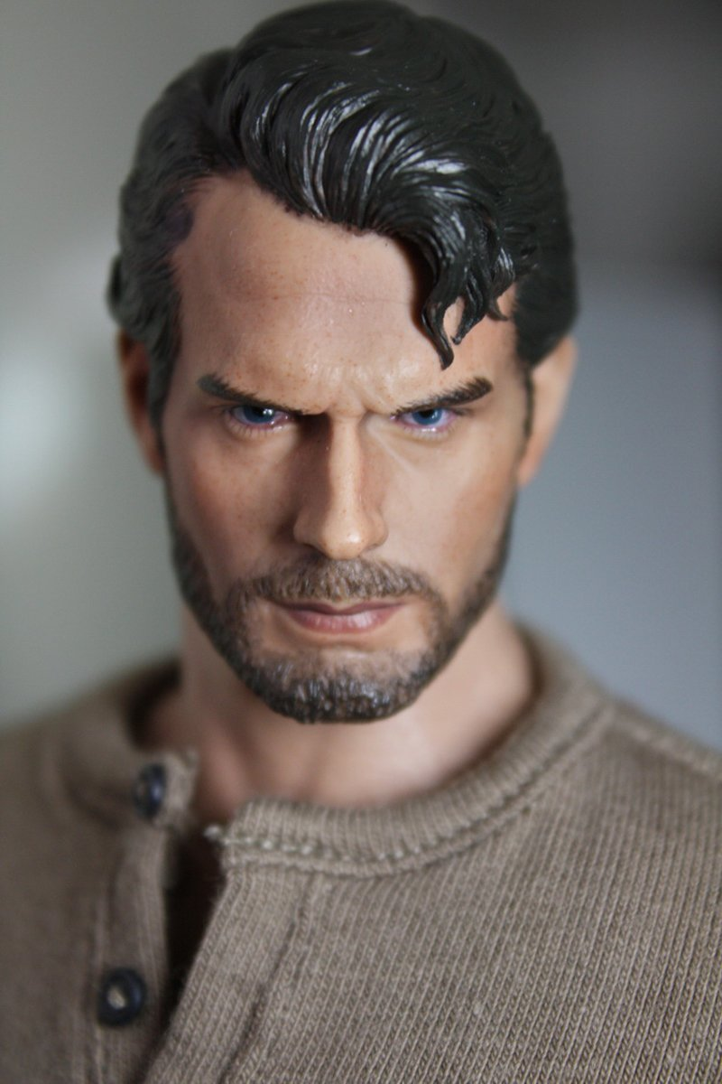 1/6 Superman Head Batman Dawn of Justice Henry Cavill DC Comics Super Heroes 1/12 Action Figures