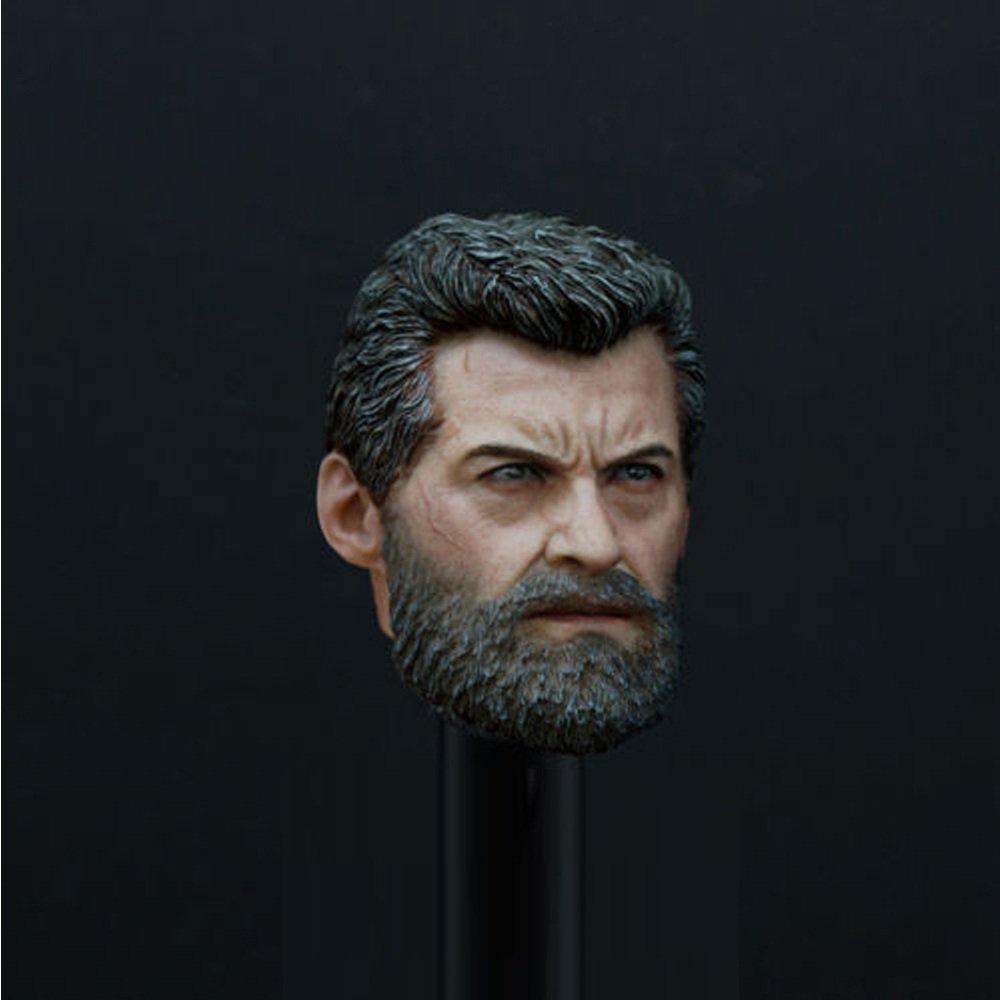 1/6 Logan Head Wolverine X-Men Hugh Jackman Marvel Super Heroes 1/12 Action Figures Toys Hobby Games