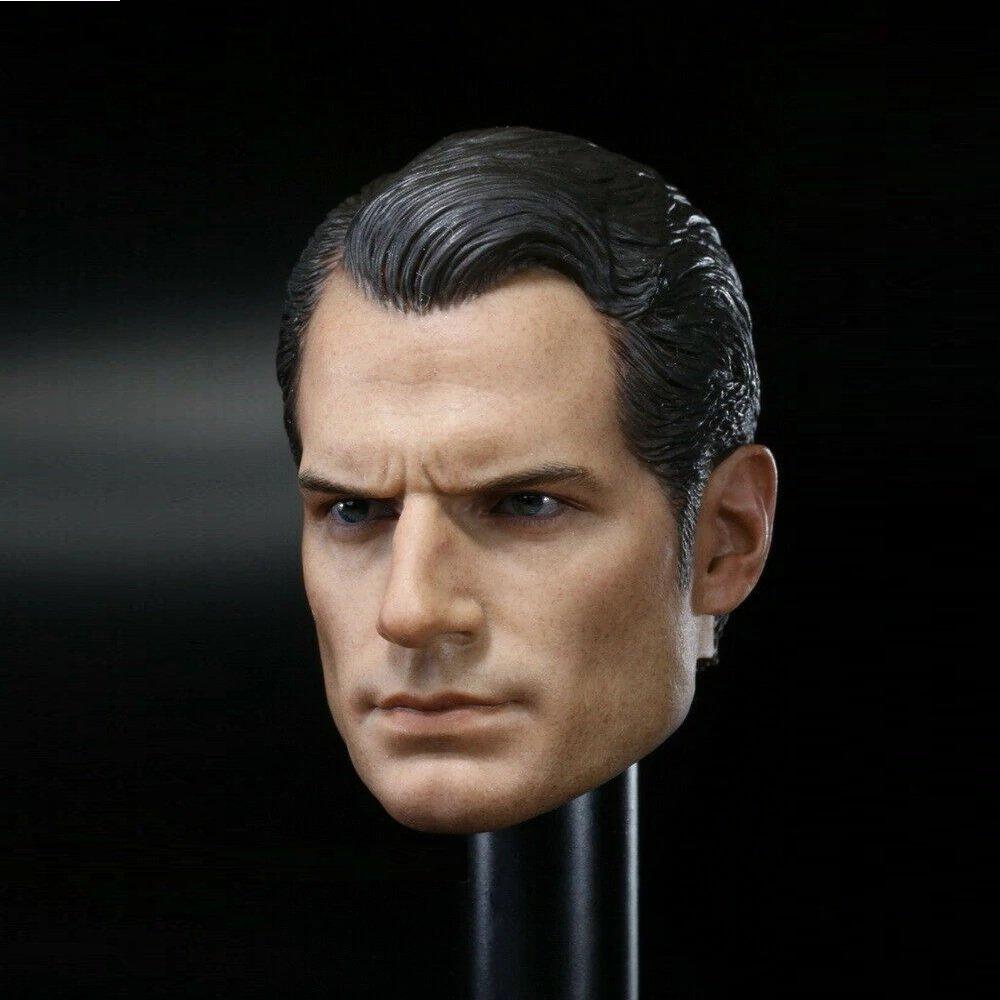 1/6 Superman Head Justice League Henry Cavill DC Comics Super Heroes 1/12 Action Figures