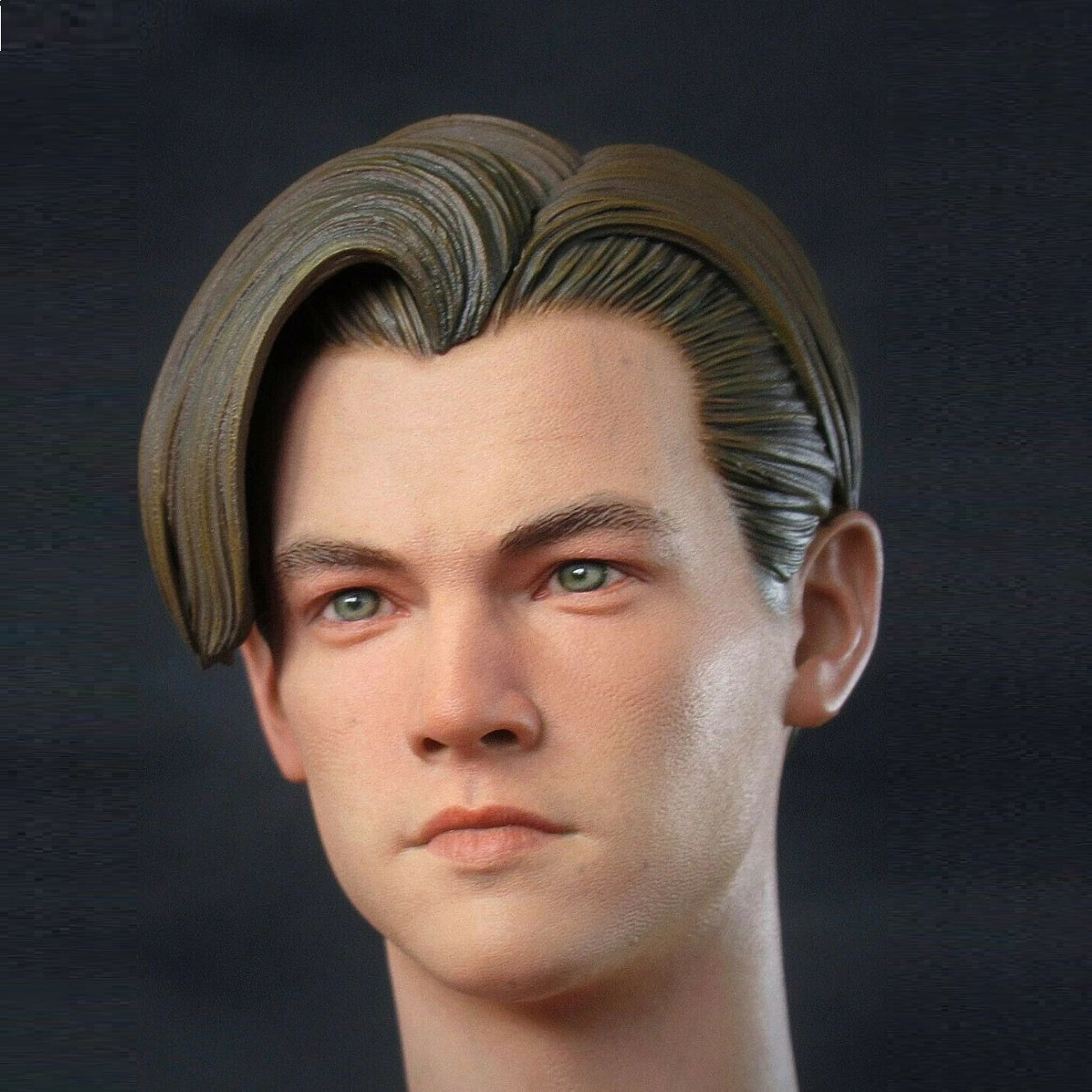 1/6 Leonardo DiCaprio Young Head for 1/12 Action Figures Toys Hobby Games