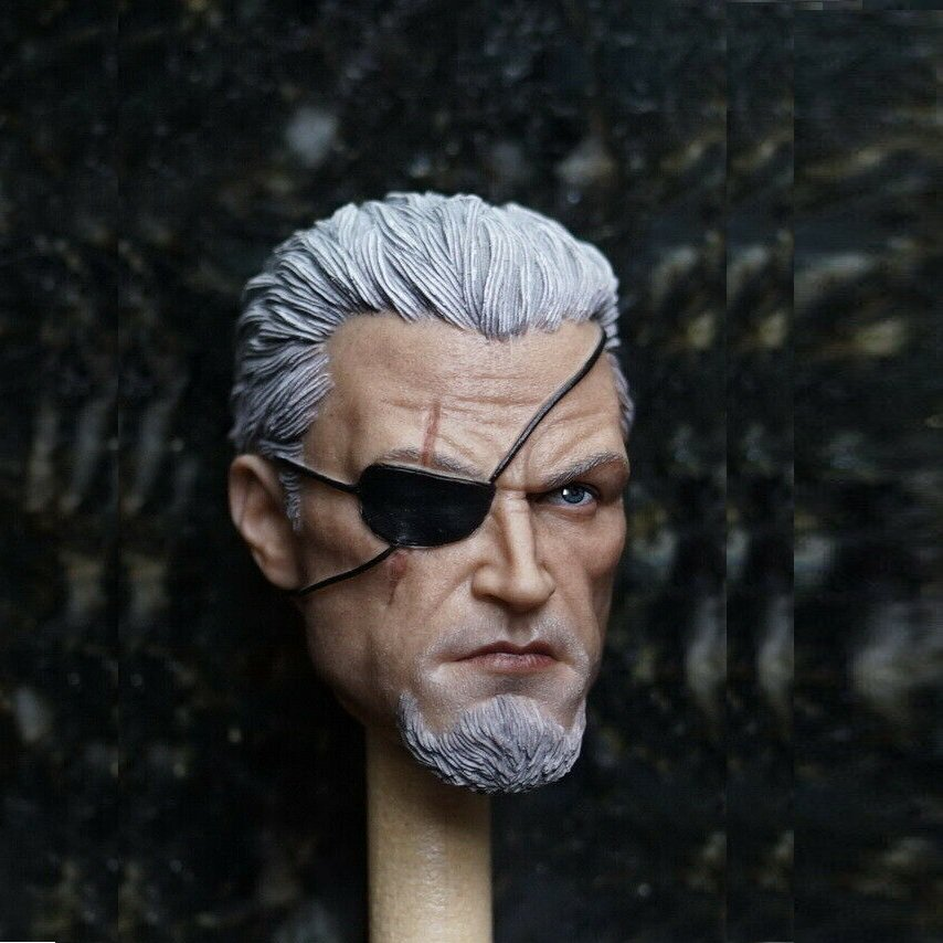 1/6 Deathstroke Unmasked Head DC Comics Super Heroes for 1/12 Action Figures Toys Hobby Games
