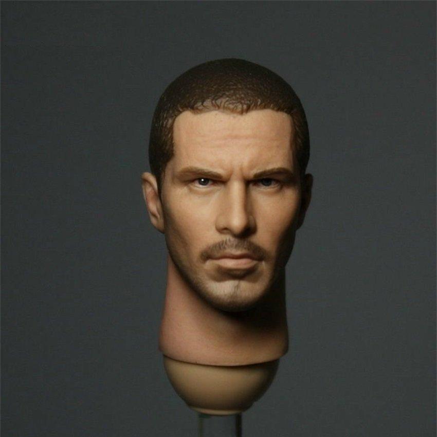 1/6 Christian Bale Head Terminators Salvation John Connor for 1/12 Action Figures