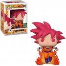 Funko POP! SSG Goku #827 Dragon Ball Z Anime Manga Movie Vinyl Action Figure Toys
