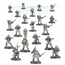 20pcs Lasrifle Section Solar Auxilia Imperial Guards Army Warhammer 40k Forge World Figures Toys