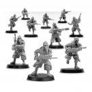 10pcs Death Korps of Krieg Infantry Squad Advancing Astra Militarum Warhammer 40k Forge World
