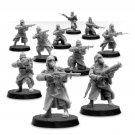 10pcs Death Korps of Krieg Infantry Squad Firing Astra Militarum Warhammer 40k Forge World