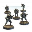 5pcs Death Korps of Krieg Engineers Squad Astra Militarum Imperial Guard Warhammer 40k Forge World