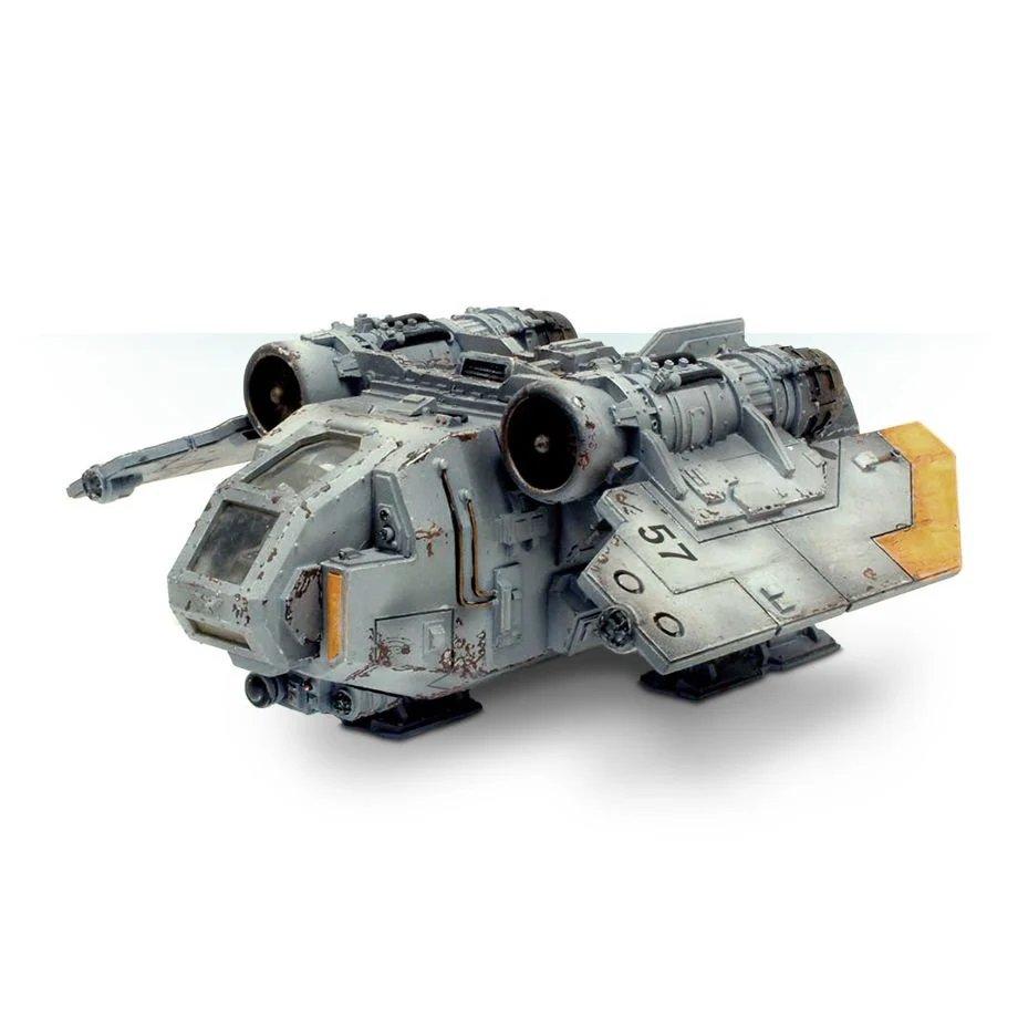 1pcs Arvus Lighter Imperial Navy Astra Militarum Army Warhammer 40k Forge World Figures Toys