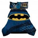 Batman Guardian Speed Bed in a Bag Twin/Full Size Comforter Set Boys Super Hero