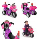 6V Motorcycle Bike Power Wheels For Girls Police Battery Powered Ride On Toy NEW