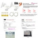Replacement Tubing And Breast Pump Kit For Medela Pump In Style Advanced Breast