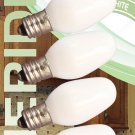Meridian Electric 13201 Incandescent C7 Replacement Night Light Bulbs, Small,