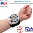 Wrist Blood Pressure monitor Automatic Digital Pressure Monitor FDA Approved