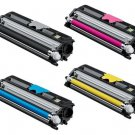 Konica Minolta MAGICOLOR 1600W Series Compatible Toner Set BK,C,Y,M (HIGH YIELD)