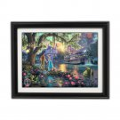 Princess and the Frog by Thomas Kinkade Disney Dreams Collection - Fully Framed