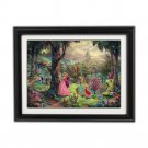 Sleeping Beauty by Thomas Kinkade Disney Dreams Collection - Fully Framed
