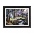 Show White by Thomas Kinkade Disney Dreams Collection - Fully Framed