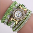 Women's Casual Analog Quartz Rhinestone Watch Bracelet Watch