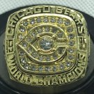 1985 Chicago Bears World Championship Men Gold Ring Size 11 Only