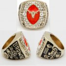 2005 University of Texas Longhorns Football Men Gold Ring Size 11 Only
