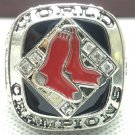 2007 Boston Red Sox World Series Championship Men Silver Ring Size 11 Only
