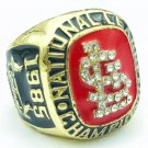 1985 St. Louis Cardinals World Series Championship Men Gold Ring Size 11 Only