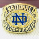 1988 Notre Dame Fighting Irish NCAA FOOTBALL National Championship Ring Size 11 Only