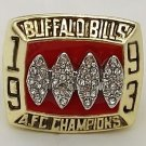 1993 Buffalo Bills American Football Championship Gold Plated Ring Size 11