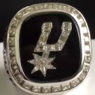 1999 San Antonio Spurs Basketball High Quality Championship Ring Replica - Size 11