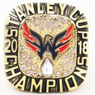 2018 Hockey Washington Capitals NHL Gold Championship Rings Ovechkin-Size 8-14- Without Box