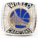 2017 GOLDEN STATE WARRIOR DURANT Silver Championship Ring-Size 8-14- No Box