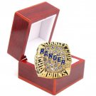 1994 NEW YORK RANGERS Gold Championship Ring-Leetch-Size 11-With Box