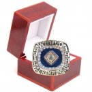 1985 KANSAS CITY ROYALS Silver Championship Ring Brett-Size 8-14-With Box