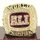 2016 Muhammad Ali Gold Championship Ring-Size 11-No Box