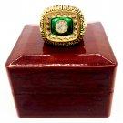 1972 Miami Dolphin World Gold Championship Ring Scott-Size 11-With Box