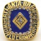 1995 Atlanta Braves Championship Gold Ring Jenkins-Size 11 or 12-No Box