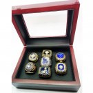 1955 1963 1965 1978 1981 1988 2017 7pcs Los Angeles Dodgers Championship Rings Set-Size 11-With Box