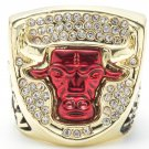 1993 Chicago Bulls Basketball High Quality Championship Ring Replica - Size 11