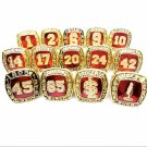 St. Louis Cardinals Hall Of Fame World Series Championship Baesball Rings 14pcs-NO Box