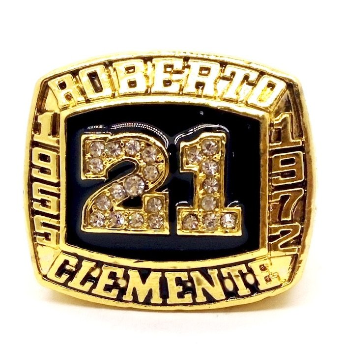 1955 1972 ROBERTO CLEMENTE Hall Of Fame Player Ring-Size 5-13-No Box