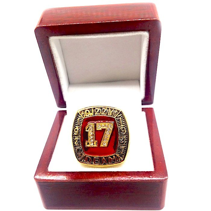 1930 1947 DIZZY DEAN Hall Of Fame Player Ring-Size 11-With Box