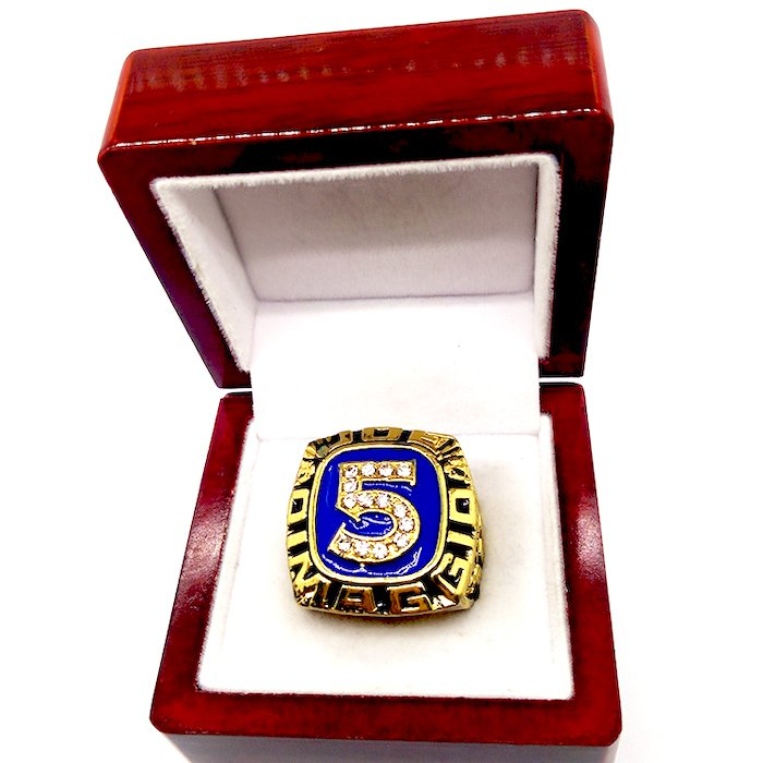 JOE DIMAGGIO Hall Of Fame Player Ring-Size 5-13-With Box