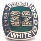 1984 2000 REGGIE WHITE Hall Of Fame Player Ring-Size 11-No Box
