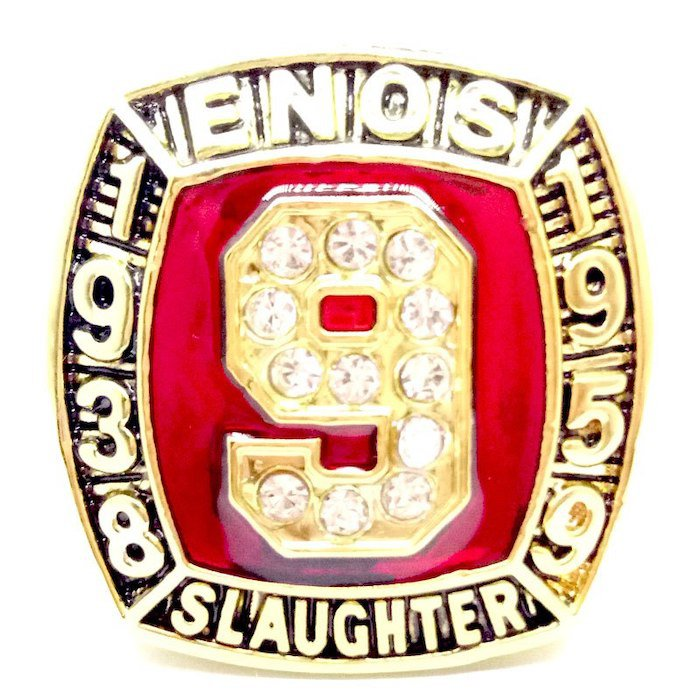 1938-1959 Enos Slaughter Hall Of Fame Player Ring-Size 11-No Box