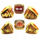 1993-1998 Texas A&M Championship Ring Set Of 2-Size 11-No Box