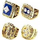 1980/1981/1982/1983 New York Islanders Championship Ring Set Of 4-Size 11-No Box
